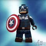 Lego Captain America TWS