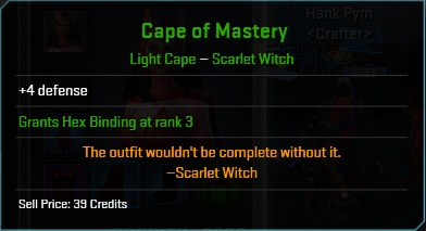 Equipment-Capes-Cape of Mastery (Scarlet Witch 4)