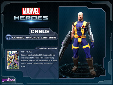 Costume cable xforce