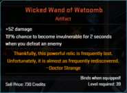 Wicked Wand of Watoomb Descr