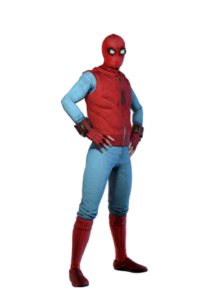 F spiderman homemade