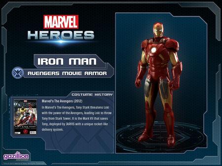 Costume ironman movie