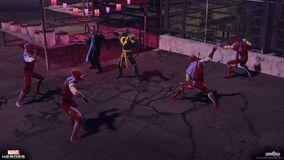 Lowtown ronin hawkeye punisher trench ninjas cu