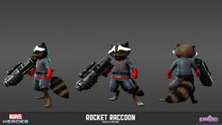 MarvelHeroes ModelSheet RocketRaccoon Modern-8ar12