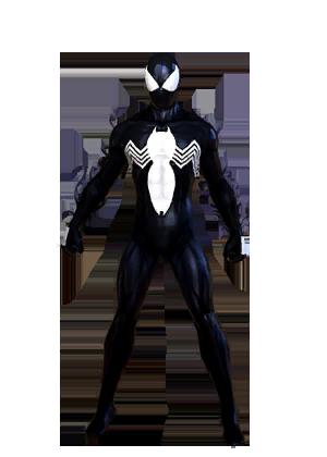 F spiderman symbiote vu