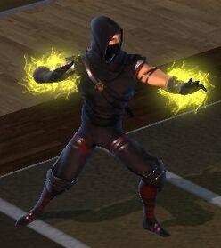 Character - Hand Sorcerer