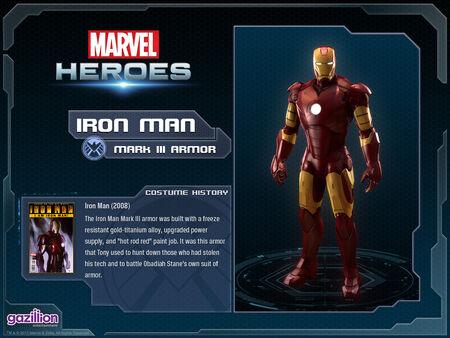 Costume ironman mark3