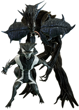 RocketRaccoon & Groot Symbiote