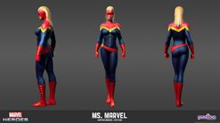 Ms.MarvelCaptainOfficialModelSheet