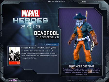 Costume deadpool TheKid