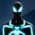 SpiderMan Big Time Blue Costume Icon