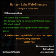 Horizon Labs Web-Shooters