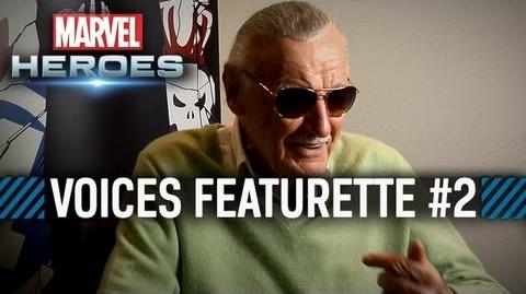 Marvel Heroes - Meet the Voices of Marvel Heroes, Part 2 - featuring Stan Lee