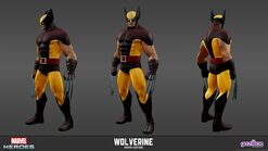 Wolverine Brown Model