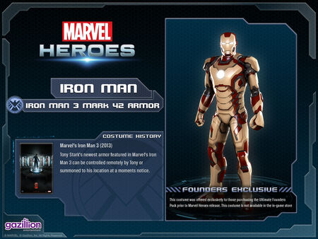 Costume ironman mark42
