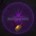 Equipment-Medal- Medallion - Sabretooth