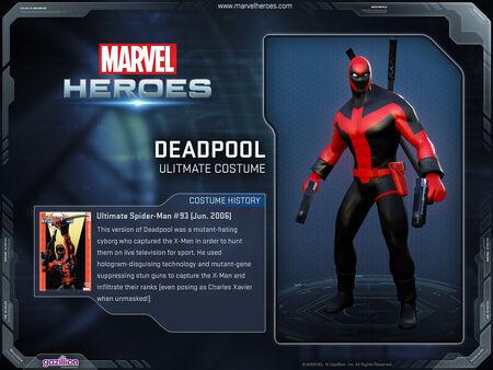 Costume deadpool ultimate