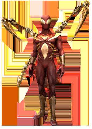 F spiderman ironspider