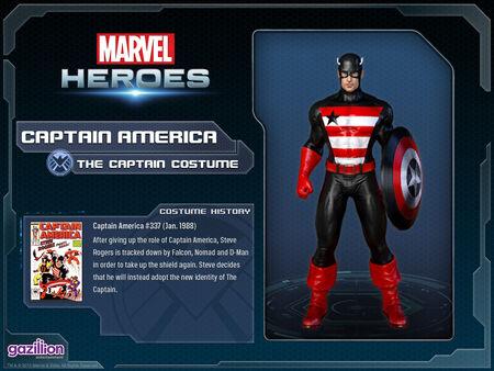 Costume captainamerica thecaptain