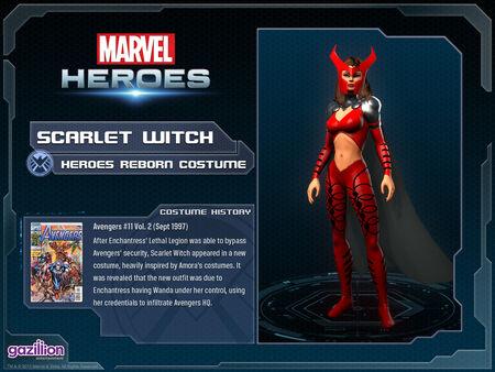 Costume scarletwitch reborn
