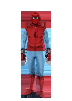F spiderman homemadewithhood
