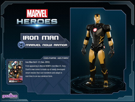 Costume ironman marvelnow