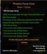 Phoenix Force Visor