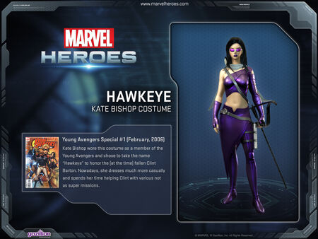 Costume hawkeye katebishop