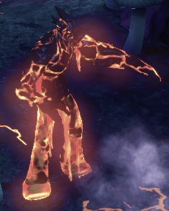Character - Lava Man