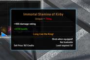 Immortal Stamina of Kirby