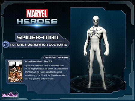 Costume spiderman futurefoundation
