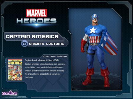 Costume captainamerica original