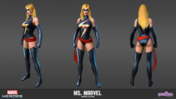 Ms. Marvel Modern Model
