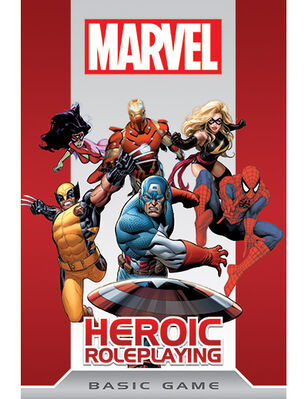 Marvel heroic cover