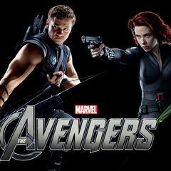 International Avengers banner.