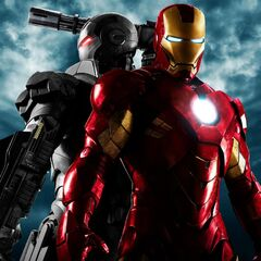 Poster featuring Iron Man and War Machine.