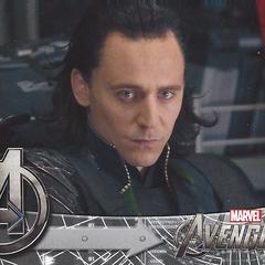 Seeing lightning, Loki is afraid of what follows.