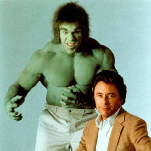 Dr. Banner and his alter ego, The Incredible Hulk