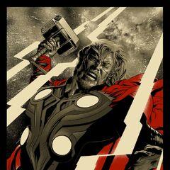 Mondo's Avengers Thor poster.