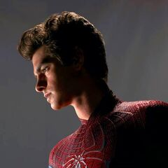 Spider-Man, without mask.