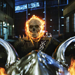 The Ghost Rider.