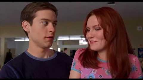 Peter Saves Mary Jane In The Cafeteria (Extended Alternate Scene) - Spider-Man (1080p)