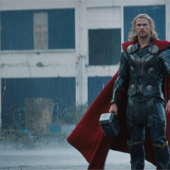 Thor's return to Earth.