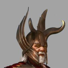 Odin Concept Art.