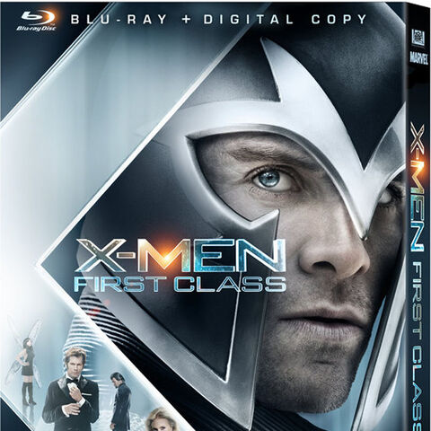 The X-Men: First Class Blu Ray cover verison with Erik