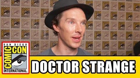 DOCTOR STRANGE Comic Con Interviews - Benedict Cumberbatch, Mads Mikkelsen, Chiwetel Ejiofor