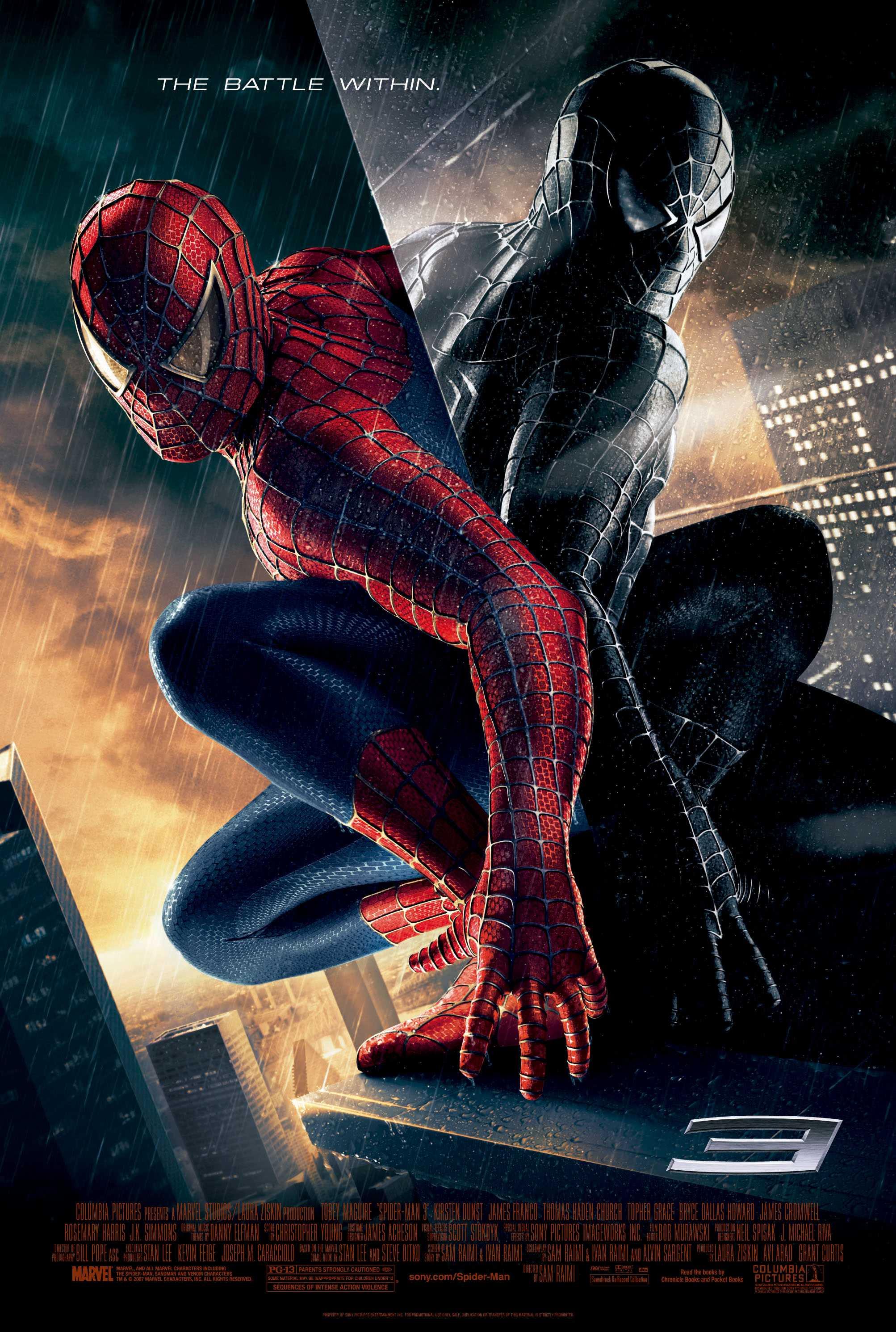 Resultado de imagem para spider man 3 poster