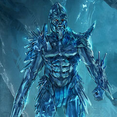 Concept art for a Frost Giant.