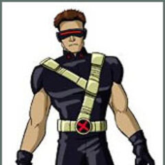 Cyclops in Xavier's vision.