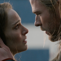 Jane and Thor reunite.